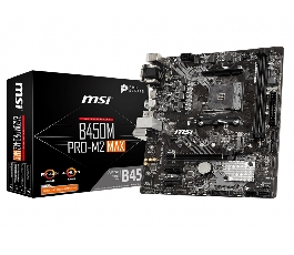 Placa base msi amd b450m...