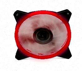 Ventilador phoenix led rojo...